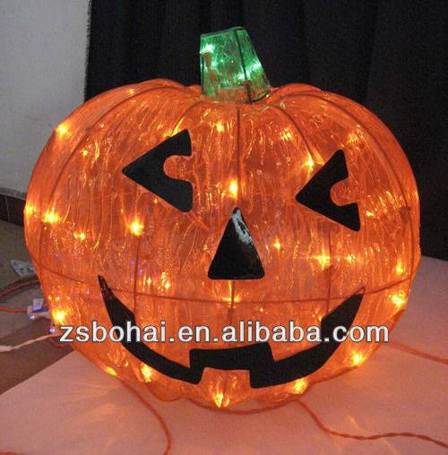 2016 led light led motif light christmas light up pumpkin