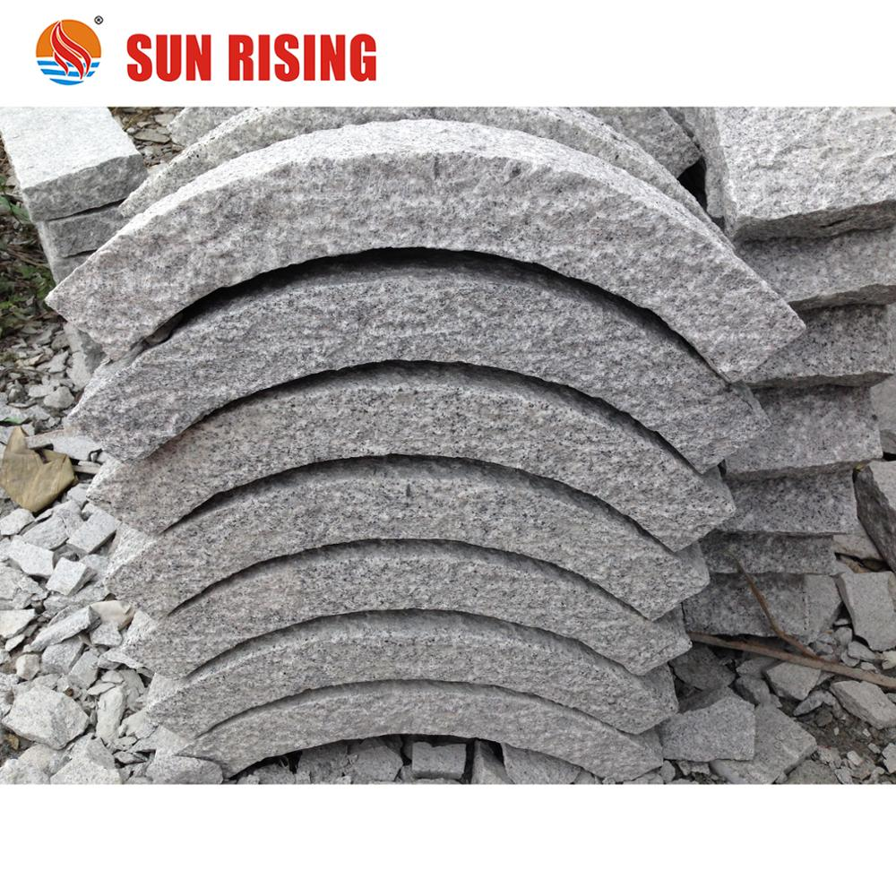 Cheap Grey Granite Curbstone from Own Quarry