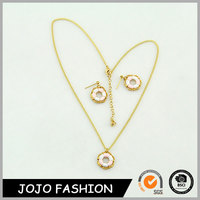 Latest design fashionable epoxy resin jewelry women's jewelry sets