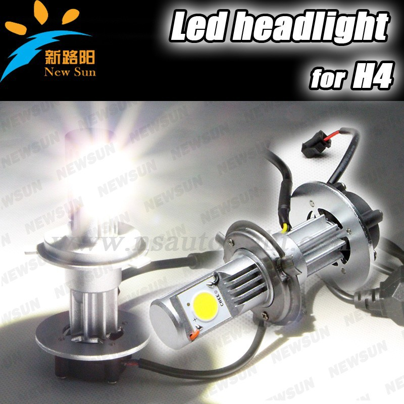 Xenon white Can bus 3600lm 50w 12v 7 inch jetta led headlight H4