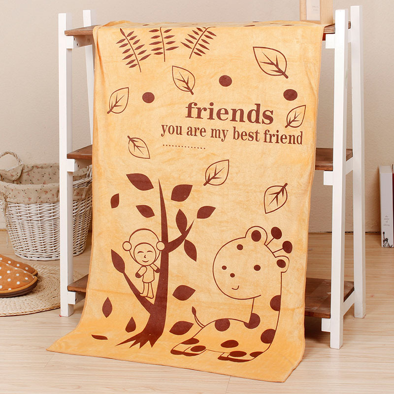 New Arrival Hot Sales Baby Bath Towels Cartoon Design Infant Cotton Bath Towels Shipping Free 140x70cm
