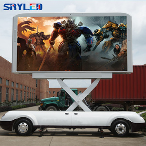 P5 HD Outdoor Mobile Trailer Programmable Led Sign Display for Sale