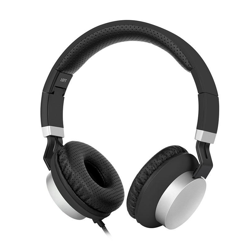 High Definition Over-ear Stereo Headphones with Volume Control and Microphone