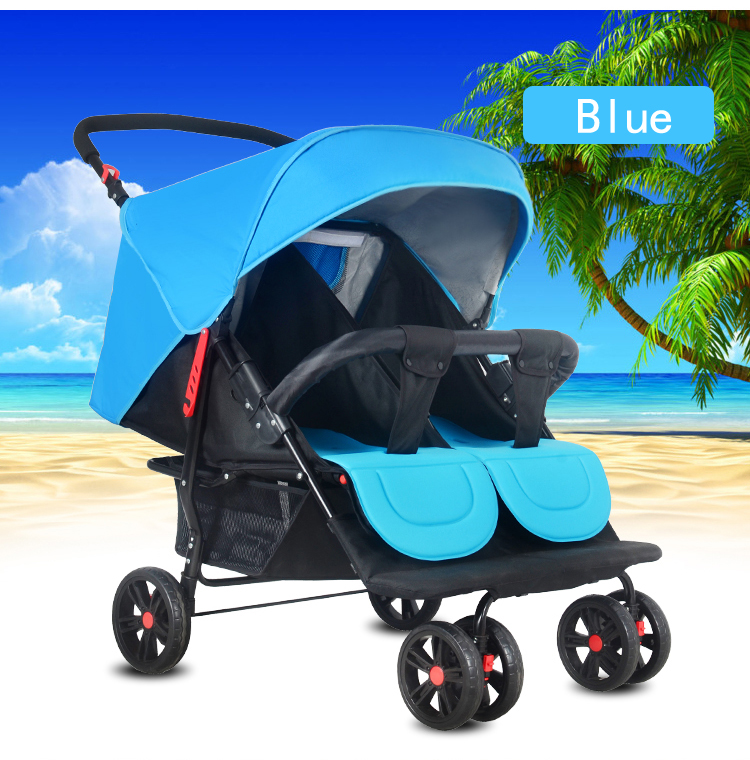 0fda03489cc4 Manufacturers Supplying New Style Folding Baby Carriage Twins ...