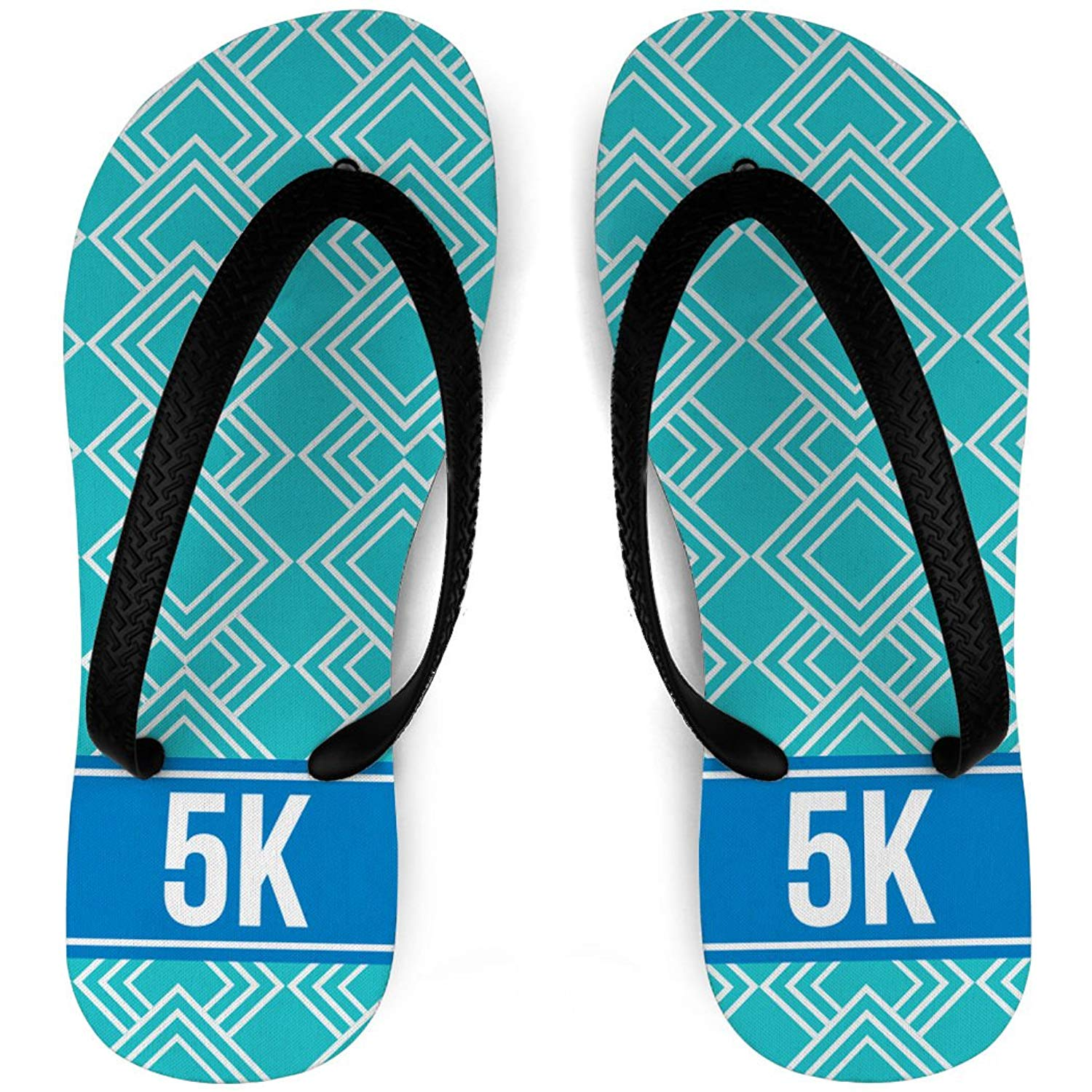 5f665441f2ad Get Quotations · Running Flip Flops Diamond Pattern With Ribbon 5K