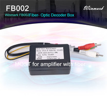 Fiber Box for Benz E/C/CLS/S class cars,MOST for fiber optic amplifier