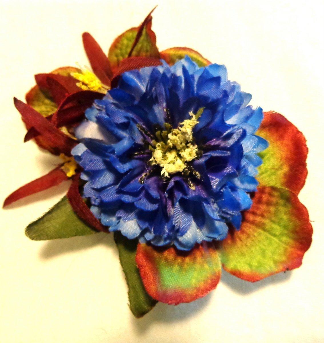 Cheap Blue Flower Hair Clip Find Blue Flower Hair Clip Deals On