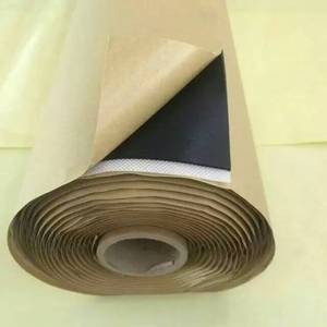 Application fields concrete roof mastic butyl rubber tape