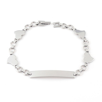 22cee10d53 Free Sample Wholesale Custom Engraved Stainless Steel Bracelet Blanks  Unique Bangle ID Bangle Jewelry