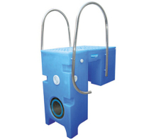 Guangzhou Factory CE approval swimming pool water treatment portable wall hung filter machine