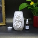 Fashion Home Ceramic Oil Burner Tea Light Holder Essential Oil Burner Gift set