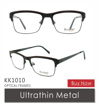 KK1032 2018 New Model China Brand Name Designer Metal Combined Spectacles Frames Spectacle for Men