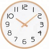 High Quality Wood Frame Round Wall Clock