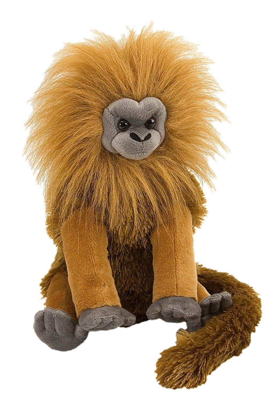 Wild Republic Golden Lion Tamarin Plush, Stuffed Animal, Plush Toy, Gifts for Kids, Cuddlekins 12 Inches