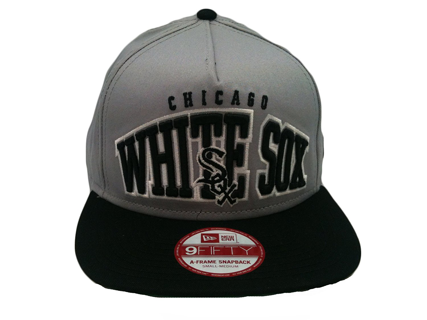 19f338691f7 Get Quotations · Chicago White Sox MLB Hightailer Flat Bill Snapback Hat