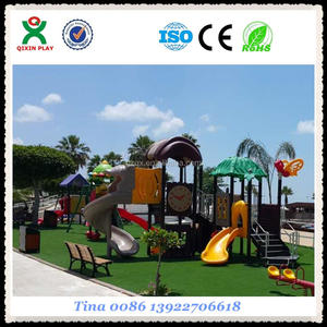2016 Guangzhou QIXIN PLAY/playground for beach resort/cheap playgrounds for kids