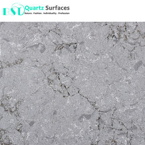 20mm Turb Grey Caesar Stone Artificial Quartz Slab in the Largest Size at a Good Price