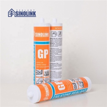 SINOLINK cheap price clear acetic GP silicone sealant for india