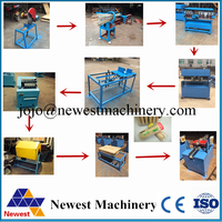 Bamboo toothpick making machine/wood toothpick production line/Toothpick Making Machine