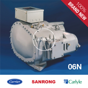 Brand New 06NA2300S5NA R134a Carrier Carlyle Air-Cooled Refrigeration Screw Compressor 06NA2300S5NC