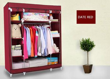 Attirant Folding Fabric Wardrobe Closet Manufacturer Metal Non Woven Fabric Wardrobe