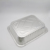 disposable food roasting tray aluminium foil serving plate