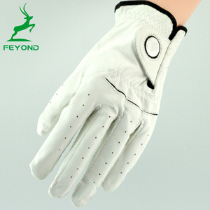 2018 Cabretta Leather or PU material Golf Gloves