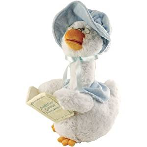 Cuddle Barn Plush Mother Goose 7 Rhyme Blue by Cuddle Barn