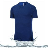 Custom latest new sport design high quality Printed fitness dry fit running T shirts for running