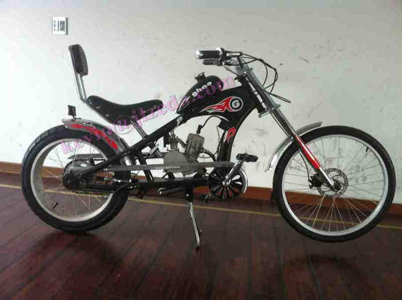Cheap Chopper Bicycle 80cc Engine Kit Chopper Bike Gas