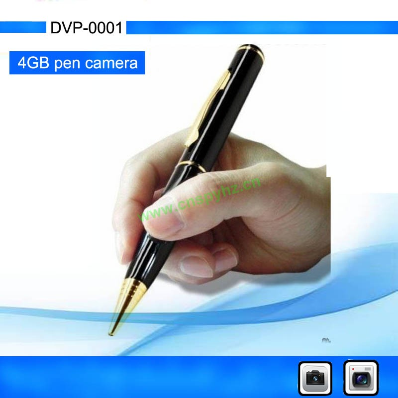 HZ DVP-001 New Pen Camera Portable Pen Dvr Sports DVR with Video, Photo, Pen, USB function ,Build in 4G memory