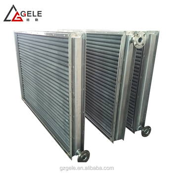 Steam Stainless Steel Coil Heat Exchangers Finned Tube Heater Heat ...