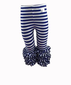 Wholesale 2016 Baby Ruffle Pants Baby Royal Blue White Striped ...