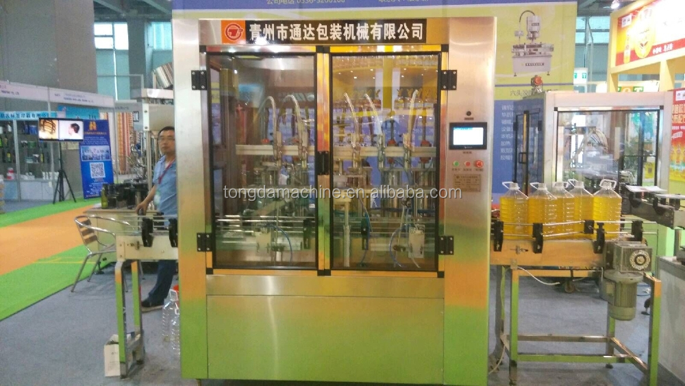 fully automatic olive oil filling and capping machine/olive oil filling equipment/olive oil filling line