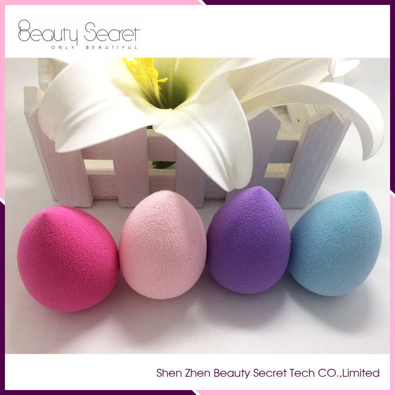 High Quality latex makeup sponge water drop shape sponge