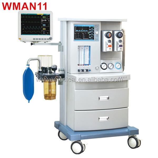 Wman11 m quina de anestesia con vaporizador funcionamiento for Mesa quirofano veterinaria