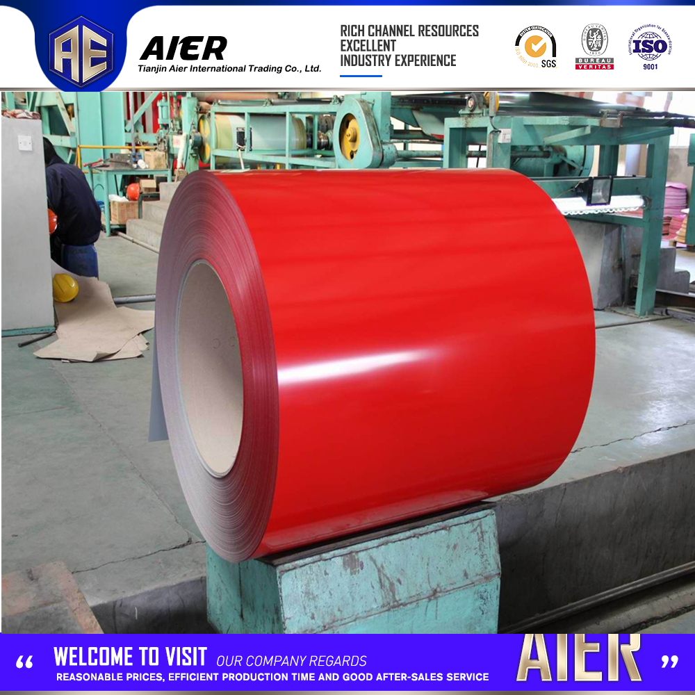 alibaba stock building construction material of color steel sheet from tianjin aier company
