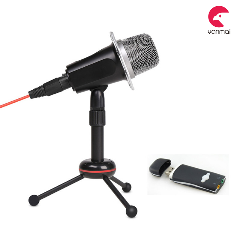 best selling products 2016 Y10B Condenser Microphone for Skype, Recordings for YouTube, Google Voice Search, Games