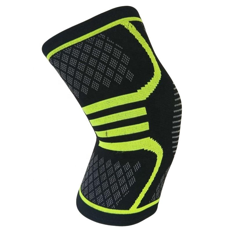 High Quality Breathable Comfortable Custom Knee Brace, Orange