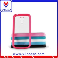 New arrival colorful pc+tpu bumper case for iphone5 and samsung