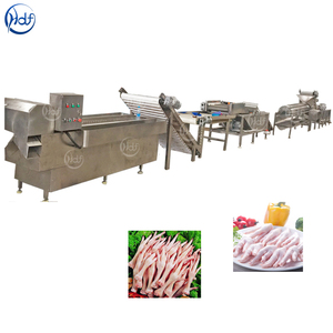Professional chicken feet peeling machine chicken feet peeling machine price