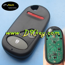 Good quality 2+1 buttons remote key FSK 433Mhz part number NHVWB523 52 for car key fob frequencies