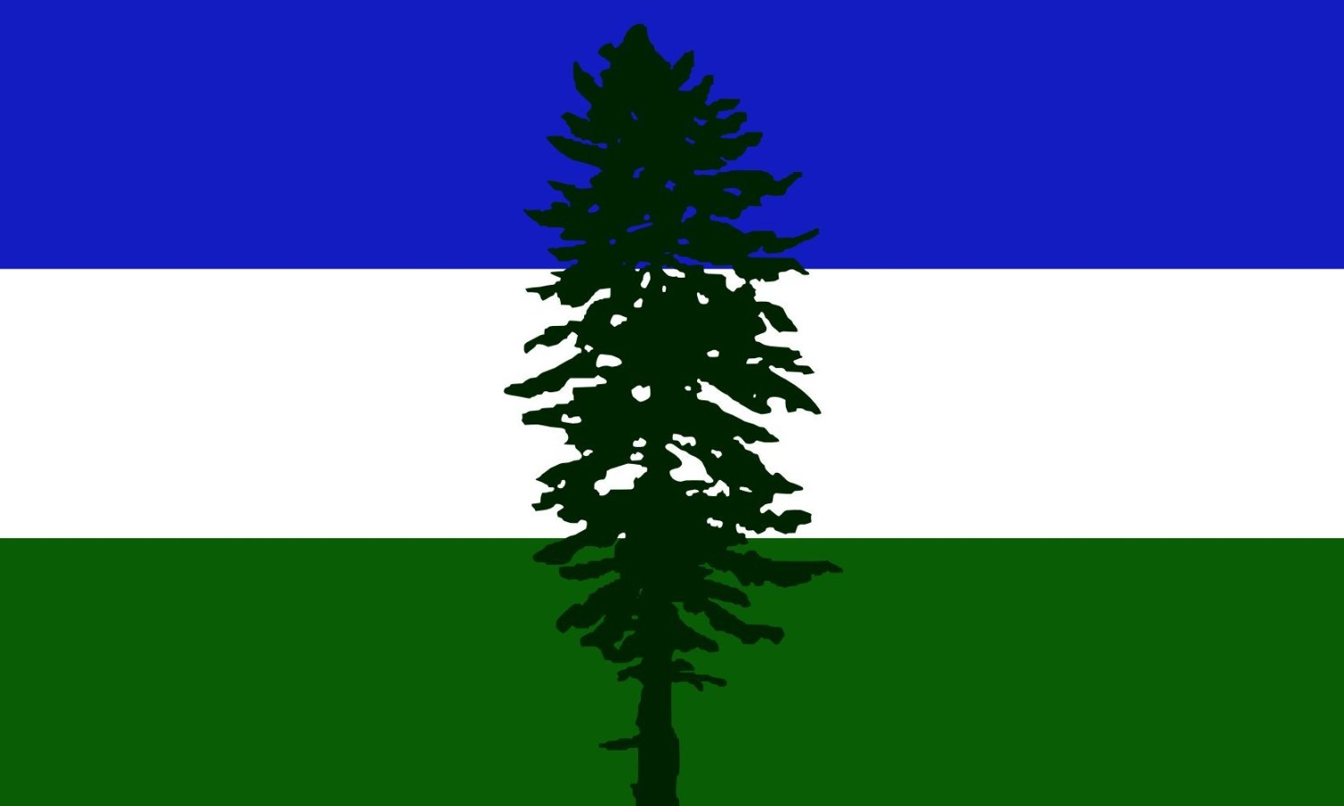magFlags XL+ Flag Cascadia | Cascadia, based on en Image Cascadian flag 120x200cm | 4x7ft -- 100% Made in Germany -- long lasting outdoor flag