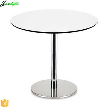 Popular Wholesale Round Hpl Compact Laminate Table Top