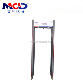 Public security equipment security door frame walk through metal detector and x ray luggage baggage screening scanner machine