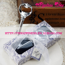 """Key to my Heart"" Metal Wine Bottle Opener Favors For Victorian Wedding Gifts"
