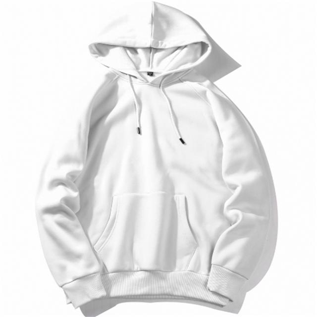 2019 Hot Sale Plain White Pull Over Hoodies Men Accept Custom 3d Printed Sweatshirts For Men Factory фото