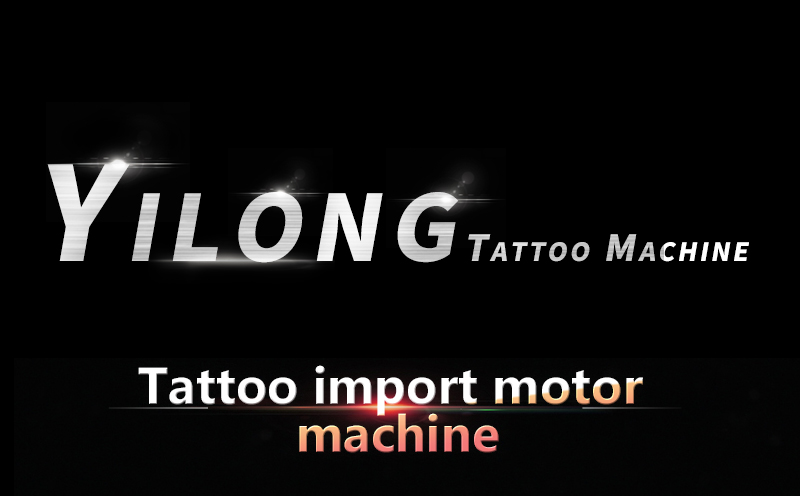 Yilong Wholesale Professional Tattoo Supply rotary tattoo machine for tattoo Using Electric Motor  Gun