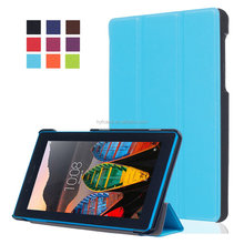stand cover case for Lenovo tab 3 7.0 710 essential tab3 710F PU leather cover protective case