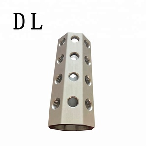 Best standard anodized aluminum for eight-sided tube,CNC aluminum product processing